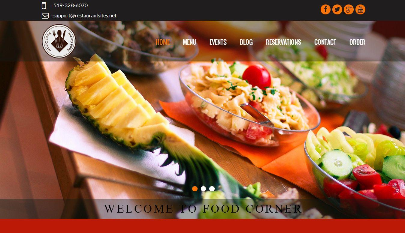 Beautiful restaurant websites and restaurant website for Design a restaurant online